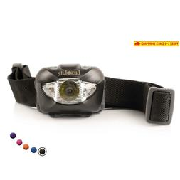 Led Headlamp Flashlight With Red Led Light - Head Lamps For