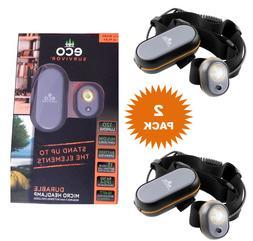 LED Headlamp Headlight Tactical Adjustable Battery Operated