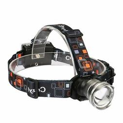 CrazyFire LED Headlamp1600 Lumens XML-T6 CREE  Zoomable 3 Mo