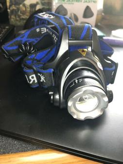 LED Headlamps 18650 Super Bright USB Rechargeable Waterproof