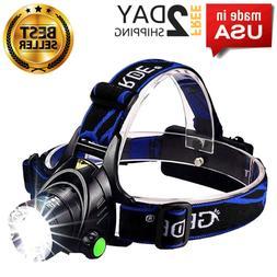 Led Rechargeable Headlamp Usb Headlight Streamlight Bandit H