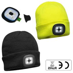 Portwest Light Up Beanie Safety Winter Hat with Rechargeable