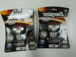 lot of 2 new Energizer Vision HD+ Focus Headlight 315 Lumens