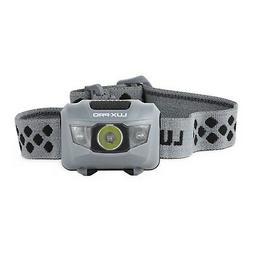 LUX-PRO 200 Lm 4 Mode Headlamp Flashlight, Black