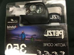 NEW! Petzl ACTIK CORE Headlamp 350 Lumens Rechargeable with