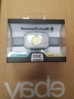 NEW!!! BLACK DIAMOND COSMO 300 LUMENS Headlamp Aluminum Colo