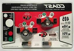 NEW Coast Focusing Headlamps 405 Lumen LED 2 Pack Tri Color