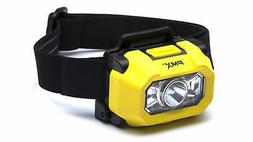 NEW PYRAMEX HL100 LED headlamp for hard hats