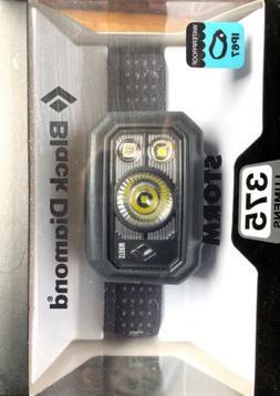 NEW!!! BLACK DIAMOND STORM Headlamp 375 Lumens-Black