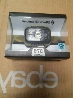 NEW!!! BLACK DIAMOND STORM Headlamp 375 Lumens   sand color