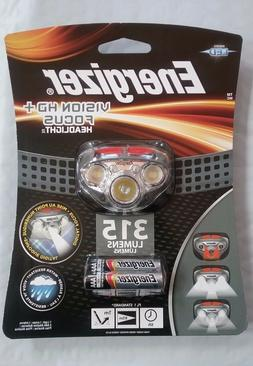 NEW! Energizer Vision HD+ Focus LED Headlight Hands Free Hea