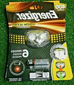 NEW! Energizer Vision Ultra Headlight 400 Lumen 6 Modes  Z-1