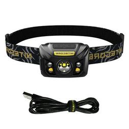 NITECORE NU32 550 Lumen LED Rechargeable Headlamp with White