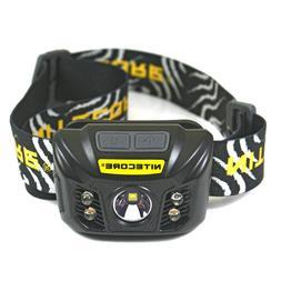 nu32 550 lumen led rechargeable headlamp