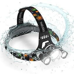 ONE DAY SALE! Brightest and Best LED Headlamp 16000 Lumen fl