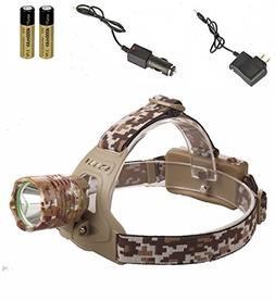 Optimum Popular 3-Mode LED 3000Lm Headlamp Headlight Waterpr
