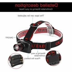 Outdoor Mini Headlamp Adjustable Beam Focus LED Headlamp Wit