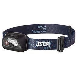 PETZL - ACTIK Headlamp, 300 Lumens, Active Lighting, Black