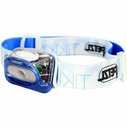 PETZL Tikkina Compact LED headlamp - Model E91 - BLUE - NEW