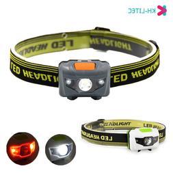 Portable Mini 4 Modes Lightweight Headlight LED Camping Head