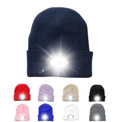 Powerful led <font><b>Headlamp</b></font> 6LED Knitted Hat R
