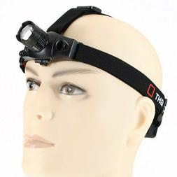 Q5 LED Zoomable Adjustable Headlight Headlamp Head Band Rech