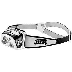 PETZL - REACTIK+ Headlamp, 300 Lumens, Bluetooth Enabled, Bl