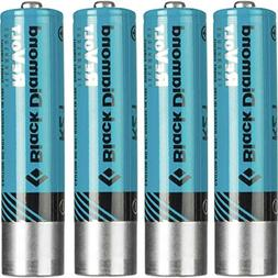 Black Diamond Rechargeable Battery - 4-Pack One Color, One S