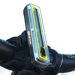 Rechargeable Bike Light Super Bright USB Helmet Headlight  B
