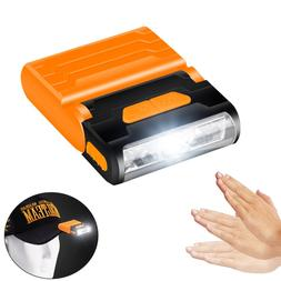 Rechargeable Body Motion Sensor Led <font><b>Headlamp</b></f