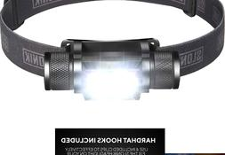 SLONIK 1000 Lumen Rechargeable 2x CREE LED Headlamp w/ 2200