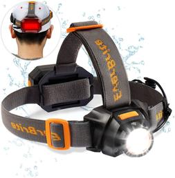 EverBrite Rechargeable Headlamp, 300 Lumen Zoomable Super Br