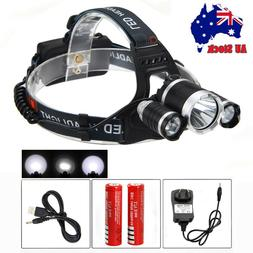 Rechargeable Zoomable Adults Led Head Lamp for Night Running