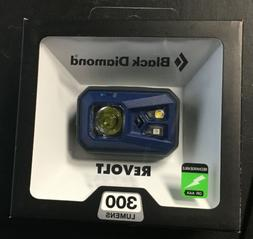 BLACK DIAMOND REVOLT 300 LUMENS Rechargable Headlamp BLUE -