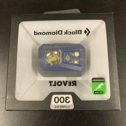 Black Diamond Revolt Headlamp 300 Lumens Rechargeable Denim