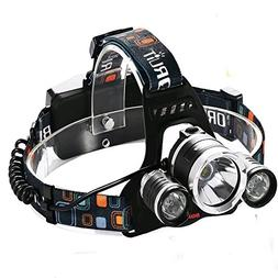 Boruit RJ-5000 5000 Lumen Led Headlamp Bright Headlight He