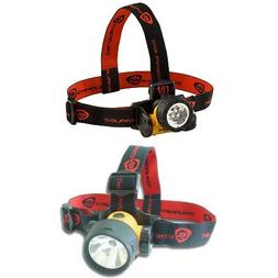 Streamlight Septor LED Headlamp with Strap and Trident Super