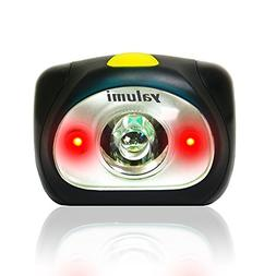 Yalumi Spark Dual 105-Lumen 90-Meter Spotlight White/Red LED