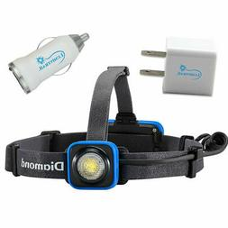 Black Diamond Sprinter Rechargeable Headlamp Bundle with Lum