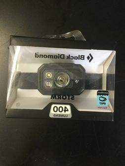 Black Diamond Storm 400 Headlamp - Factory New - Free Shippi
