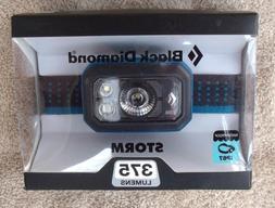 Black Diamond Storm Headlamp 375 Lumens Azul / Blue ~ Brand