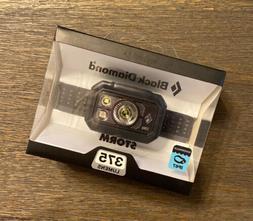 Black Diamond Storm Headlamp 375 Lumens Graphite ~ Brand New