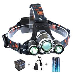 The Revenant Super Bright LED Headlamp Headlight 5000 Lumens