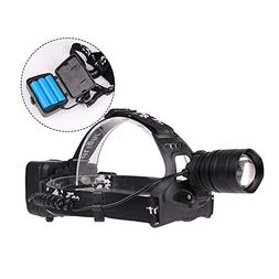 Alician LED Super Bright Headlight 40000Lum Led Zoom Head La