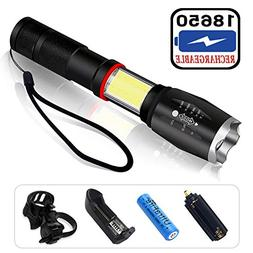 Super Bright LED Tactical Emergency Flashlight High Lumens T
