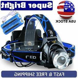 SuperBright  LED 90000Lumens Headlamp Headlight Flashlight