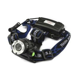 Skywolfeye Tactical 60000LM T6 LED Zoomable Hunt Headlamp To