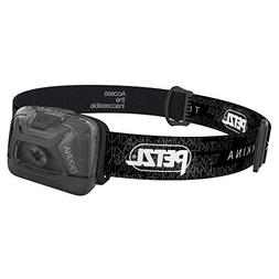PETZL - TIKKINA Headlamp, 150 Lumens, Standard Lighting, Bla