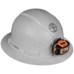 Klein Tools 60406 Hard Hat, Non-vented, Full Brim Style with