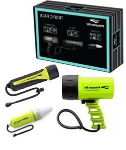Tropic Pac light kit  Princeton Tec scuba dive equip gift em